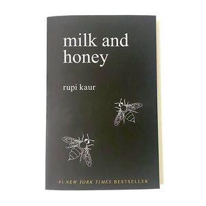 Milk and Honey poetry poem book by Rupi Kaur